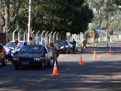 Blitz da Agetran e Guarda ainda surpreende infratores no trânsito