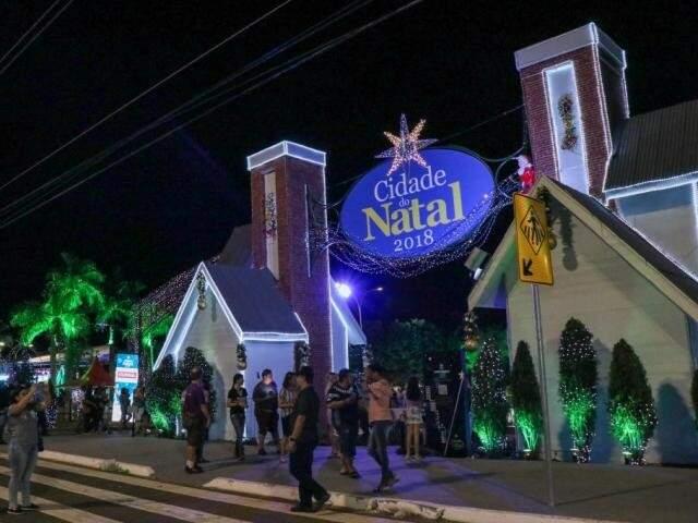 Cidade do Natal tem programação festiva até 6 de janeiro. (Foto: Henrique Kawaminami)