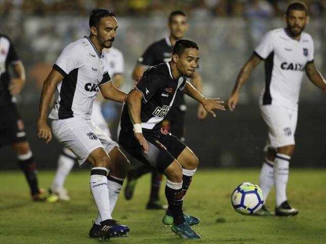 A partida colocou o Vasco em 15º no Campeonato com 20 pontos. (Foto: VascoFC)