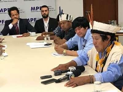 """Índios recorrem a governo estadual e MPF por """"socorro"""" diante de crimes"""