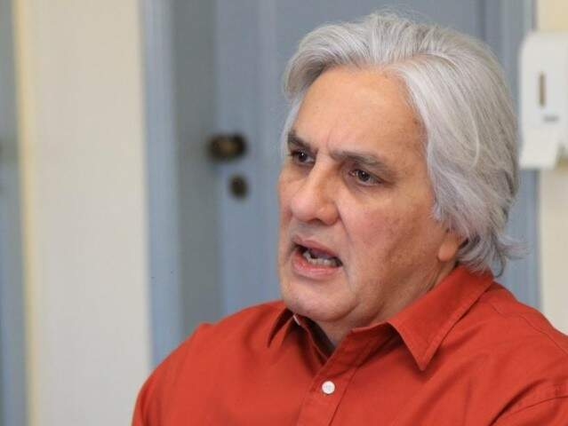 Ex-senador Delcídio do Amaral (PTC) durante entrevista (Foto: Arquivo)