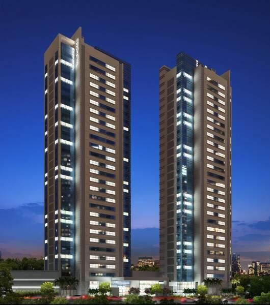 Ao todo serão 25 pavimentos cada prédio (imagem ilustrativa)