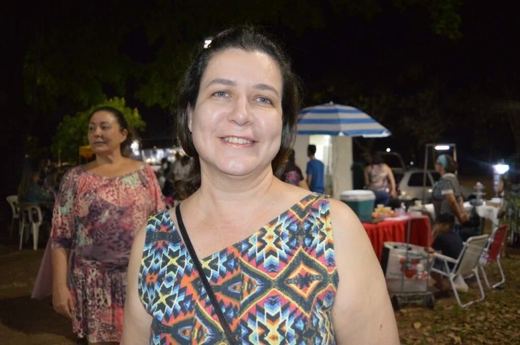 A advogada Erika Gondim Braaus participou do evento (Foto: Alana Portela)