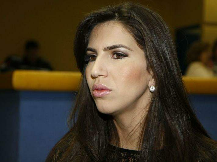 Juliana Zorzo durante sessão da Câmara de Campo Grande (Foto: Cleber Gellio/Arquivo)