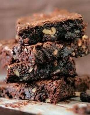 Brigadeiro cremoso é diferença em brownie brasileiro. (Foto: Divulgação)