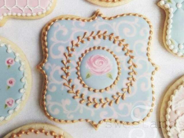 Febre entre confeiteiros agora é transformar biscoito em arte