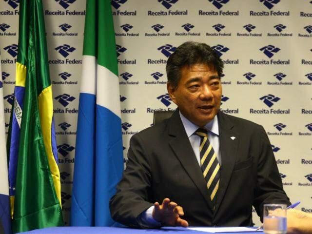 Delegado da Receita Federal em Campo Grande (Foto: André Bittar)