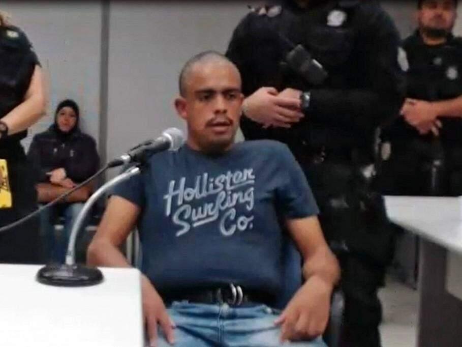 Fernando Pinheiro Cabral presta depoimento, em fevereiro