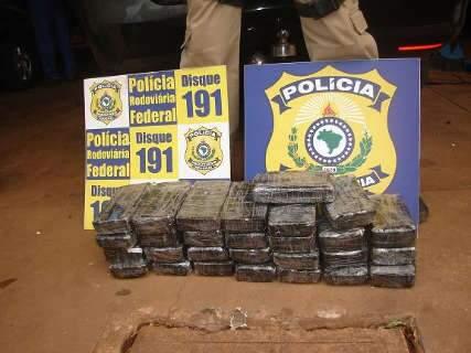 Polícia apreende 35 quilos de cocaína em carro de luxo