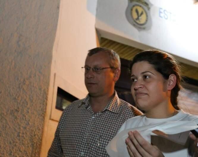 Roberlayne Patrícia Alves foi filmada recebendo propina do Hospital do Câncer (Arquivo/Campo Grande News)