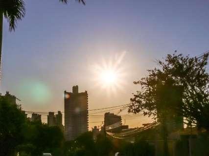 Instabilidade diminui no Estado e segunda-feira será de calor com 36ºC