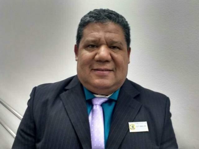 Amauri Braga, novo chefe de Segurança da Assembleia. (Foto: Leonardo Rocha).