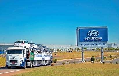Hyundai vai exportar HB20 para o Uruguai