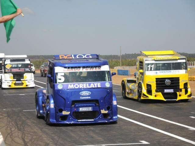 Etapa da Copa Truck do ano passado em Campo Grande (Foto: Paulo Francis/Arquivo)