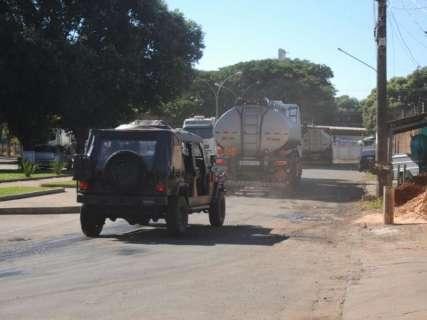 Após 7 dias de protesto nas estradas, falta gasolina em 55 cidades de MS