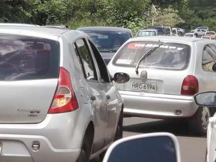 Biometria provoca caos no trânsito na região do Fórum Eleitoral