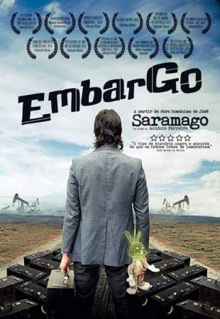 Capa de ''Embargo'', filme António Ferreira.