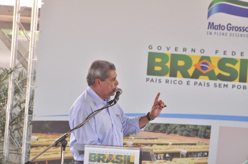 André disse que ajuda todos os municípios, independente dos partidos (Foto: João Garrigó)
