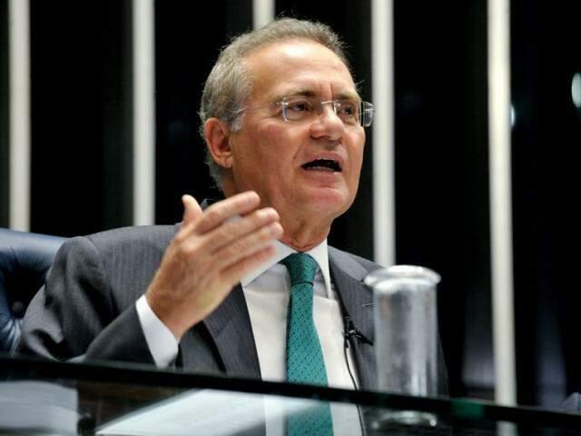 Senador Renan Calheiros desiste da presidência ao Senado (Foto: Agência Senado)