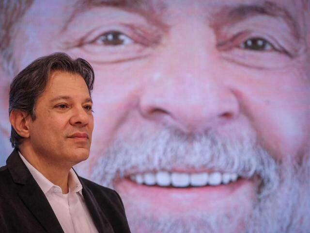 Sucessor de Lula na disputa, Haddad aparece em segundo lugar empatado com Ciro. (Foto: Ricardo Stuckert/Divulgação)