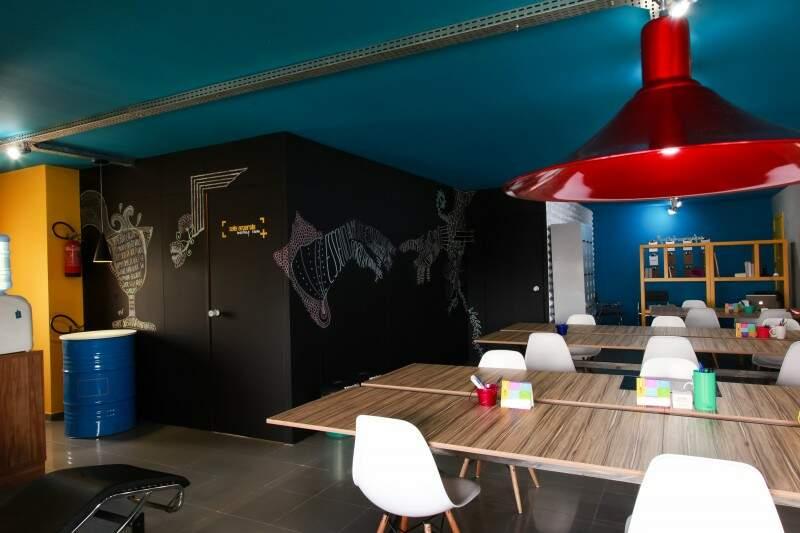 Espaço sustentável, Conectivo Coworking é um local de trabalho compartilhado. (Foto: Divulgação)
