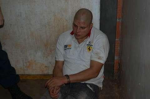 Após matar menina, acusado de crime bebeu em bar e raspou a cabeça