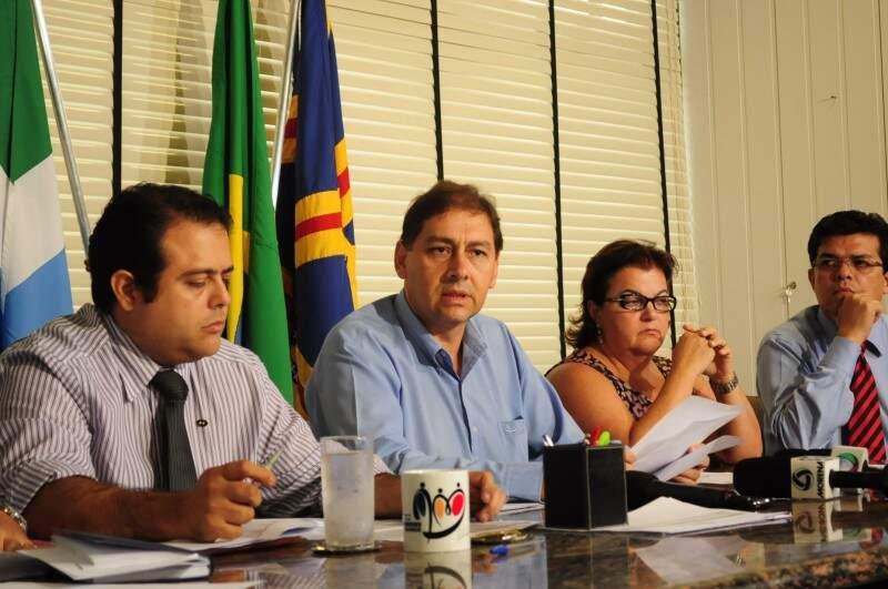 Caneca traz nova marca da Prefeitura de Campo Grande, adotada por Alcides Bernal.