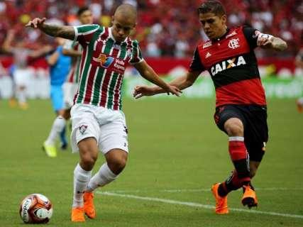 De lavada, Fluminense faz 4 a 0 contra o Flamengo pelo Carioca
