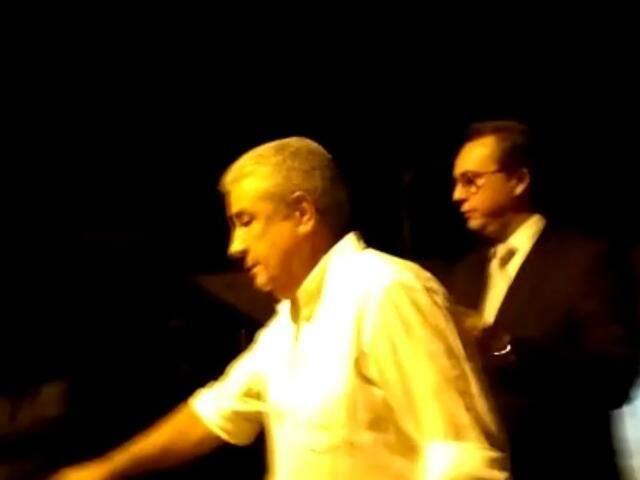 Amorim deixou o presídio acompanhado do advogado