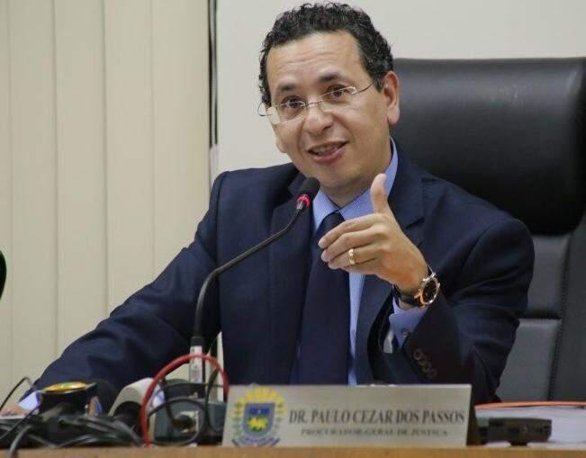 O atual chefe do MP-MS, Paulo Passos, ainda não decidiu se vai se candidatar. (Foto: Arquivo)