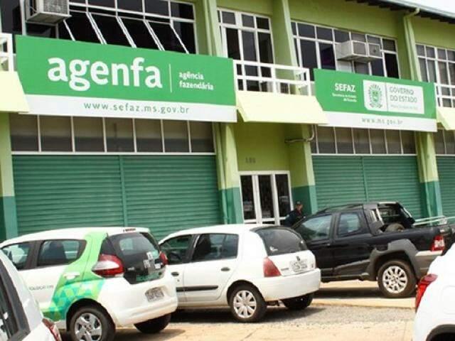 Fachada da Agenfa (Foto: Moisés Silva/Governo do Estado)