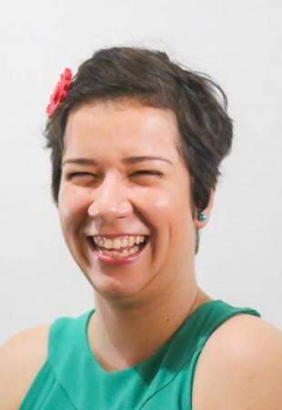 Quem olha a alegria de Ana, nem imagina os momentos difíceis. (Foto: Fernando Antunes)