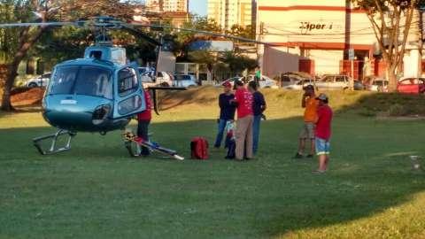 Piloto acidentado no Rally dos Sertões vem de helicóptero para Santa Casa