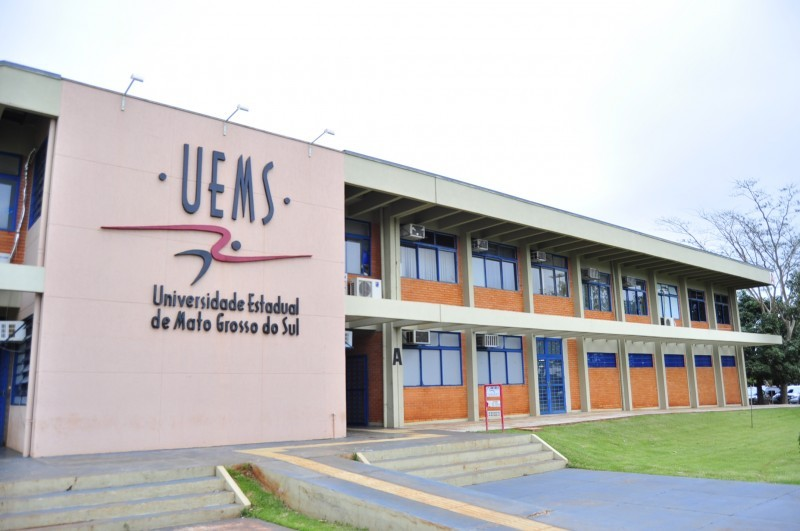 Sede da Uems em Dourados (Foto: Uems/Divulgação)