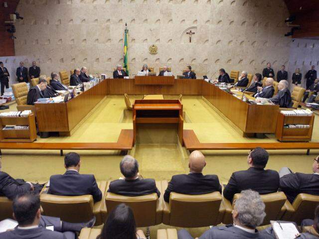 Audiência no Supremo Tribunal Federal. (Foto: Estadão/Política)