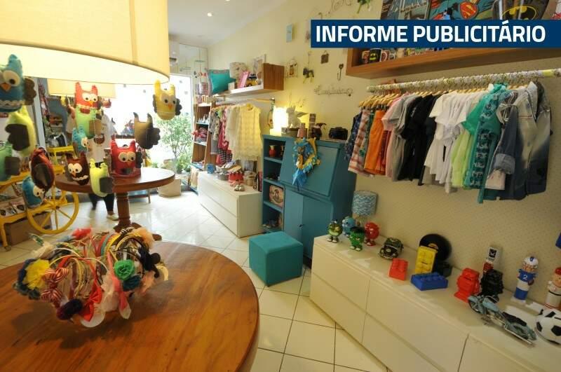 Loja tem decoração atraente e muitos produtos criativos. (Foto: Alcides Neto)