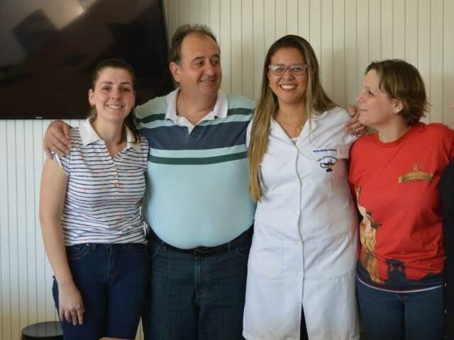 Depois de salvar a vida de Gabriel, família sonhava em agradecer a técnica em enfermagem. (Foto: Thailla Torres)