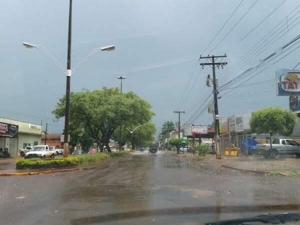 Após volume abaixo da média em janeiro, região de Dourados tem fevereiro chuvoso (Foto: Helio de Freitas)
