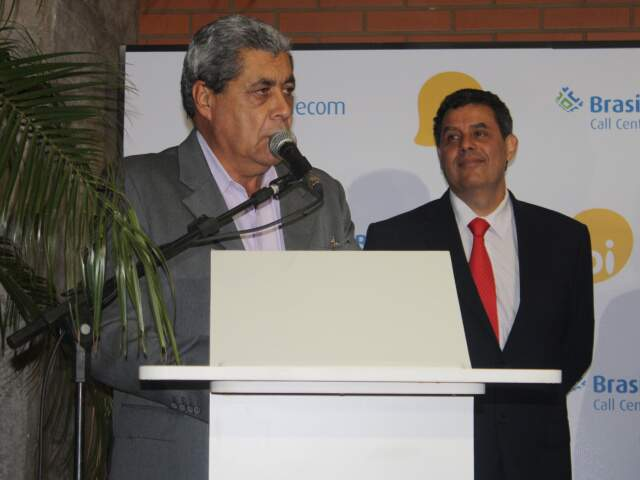 Governador ressalta criação de postos de trabalho em Campo Grande aliada a desenvolvimento tecnológico. (Foto: Divulgação/assessoria)