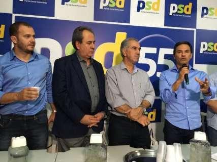 Ressaltando semelhanças, PSD de Marquinhos oficializa apoio a Reinaldo