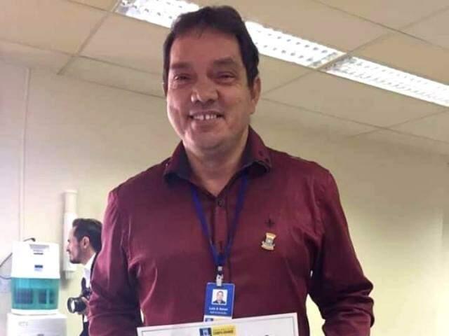 Luiz Carlos não tirava o sorriso do rosto (Foto: Arquivo pessoal)