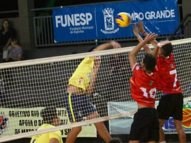 Copa Pantanal de voleibol acontece neste sábado e domingo em Campo Grande (FVMS/Divulgação)