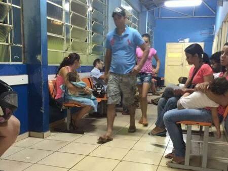 CRS do Nova Bahia ficou superlotado por causa da falta de atendimento na principal unidade da região Norte da Capital