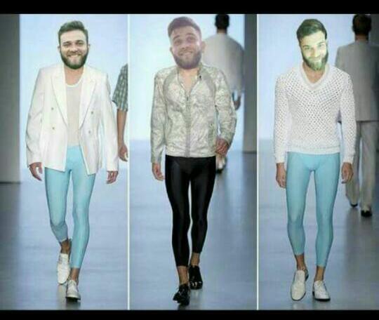 Danilo aguentou zoeira nas redes sociais e adotou a calça legging como figurino
