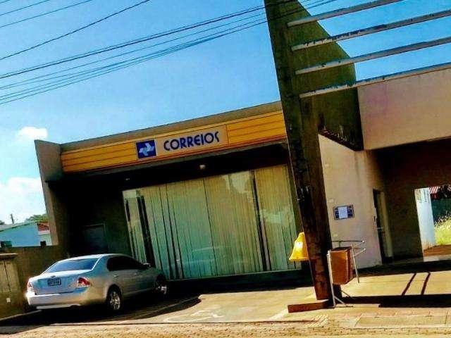 Bandidos invadem agência dos Correios e causam prejuízo de R$ 160 mil