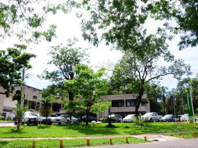 Sede da Governadoria, em Campo Grande. (Foto: Paulo Francis).
