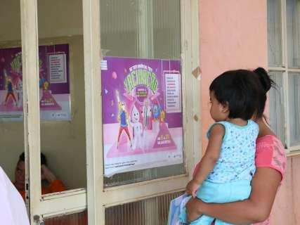 Vacinação contra poliomielite e sarampo vai até sexta-feira em 16 cidades