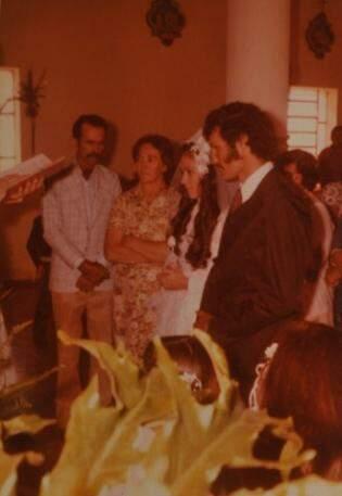 José e Hilda em fevereiro de 1979.