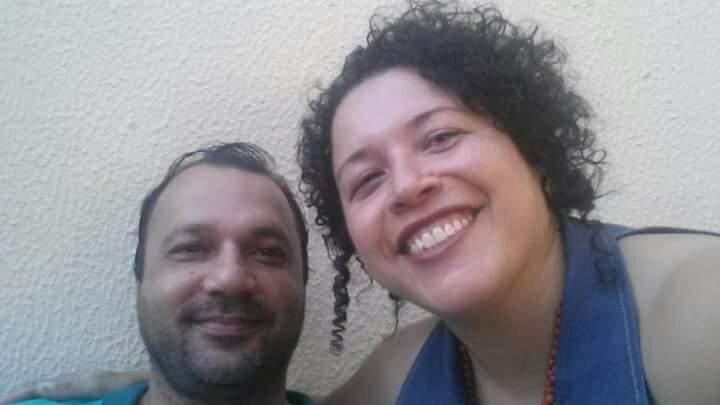 Marcelo e Márcia. Sobrinho e tia que tinham uma ligação que ia além do carro. (Foto: Arquivo Pessoal)