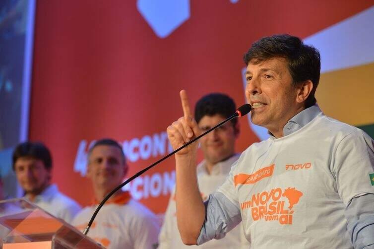 Partido Novo confirma João Amoêdo como candidato a presidente (Foto: Rovena Rosa/Agência Brasil)